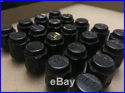 Genuine BBS Wheel nuts / lugs M12 x P1.25 locking Nissan skyline BBS LM