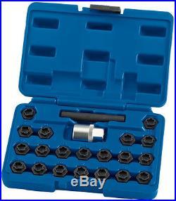 Genuine DRAPER BMW Locking Wheel Nut Set (22 piece) 15127