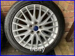 Genuine Ford 17 Alloy Wheels With Tyres (+ Locking Nuts) 5x108