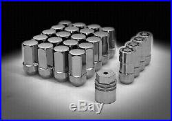 Genuine GM Wheel Lock & Lug Nut Kit Chrome 20pc 12451945