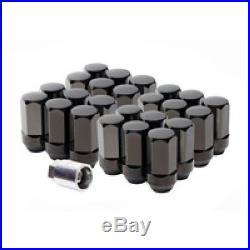 Genuine GM Wheel Lug Nut & Lock Kit Black 84332438
