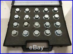 Genuine Jaguar Locking Alloy Wheel Lock Nut Key Master Set X S Type Xj Xk Xf