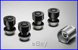 Genuine Jaguar Wheel Locking Nuts Chrome T4A11436