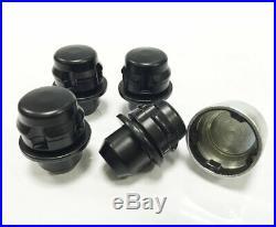 Genuine Land Rover Black Locking Wheel Nuts & 16 Nuts 14x1.50 Sport L494