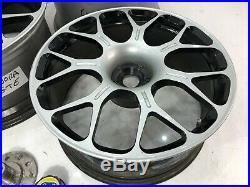 Genuine Mansory Lotus Evora S Gte Alloy Wheels Centre Lock Hubs Nuts Exige