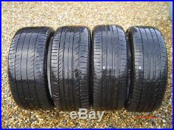 Genuine Mercedes W203 17 Inch Alloys With Tyres + Studs And Locking Wheel Nut