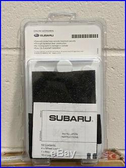 Genuine OEM 2020 Subaru Outback Wheel Lug Nut and Lock Set (Black) B321SFL020