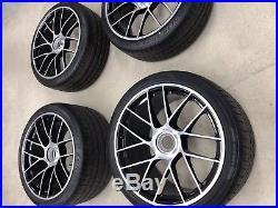 Genuine Porsche 991 Gen2 Turbo / S Centre Lock Nut 20' Alloy Wheels & Tyres