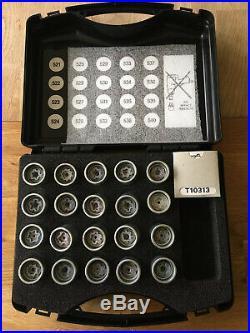 Genuine VW Locking Wheel Nut Master Set T10313