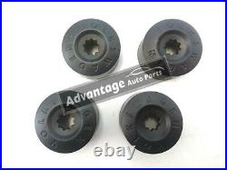 Genuine VW Wheel Nut Bolt Plastic Cover Caps 4 Normal &1 Locking Golf Passat etc