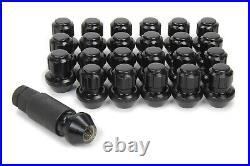 Gorilla Lug Nut and Lock System 14mm x 1.50 Black 96644BDX