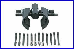 HGV Adjustable Wheel Bearing Lock Nut Tool 3/4D for 6 & 8 side castellated nuts