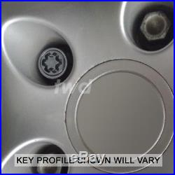 HIGH SECURITY ALLOY WHEEL LOCKING BOLTS PORSCHE BOXSTER 986 987 981 NUTS T0e
