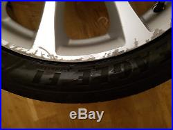 Honda S2000 AP2 Wheels with Eagle F1 tyres and locking nuts