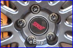 JDM OEM SUBARU STI Wheel Lug Nut Security Lock IMPREZA FORESTER LEDACY JAPAN F/S
