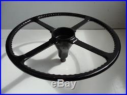 Jaguar Mk7 Steering Wheel With Lock Nut. Used. Restored. Orignal