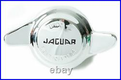 Jaguar Wire Wheel Knockoff Knock-Off Nuts 2 Ear 52mm BRAND NEW! (Set of 4)