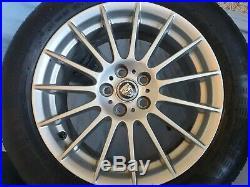 Jaguar XF 17 Wheels x4 part no. GX63-1007-BA good order + locking nut set