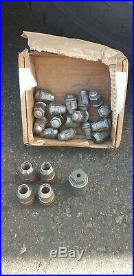 Jeep Commander Alloy Wheels and Excellent Tyres 30mm Spacers Locking nuts