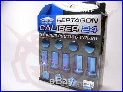 KICS CALIBER 24 WHEEL LOCK LUG NUTS 12x1.5 FOR HONDA FOR ACURA