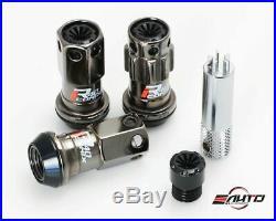 Kics R40 ICONIX Classical 44mm 17hex 12x1.5 Rim Wheel Lug Nut withCap & Lock Key e