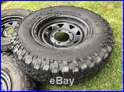 Land Rover 265/75/16 Wheels And Tyres Bf goodrich General Grabber Inc Lock Nuts