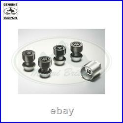 Land Rover Black Locking Lug Nut Set Discovery 5 Range Sport Vplgy0104 Oem