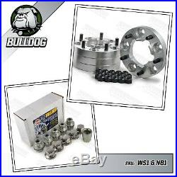 Land Rover Defender 90, 110, Discovery Wheel Spacers with Locking Wheel Nuts