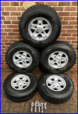 Land Rover Defender Boost Wheels Locking Nuts Continental Tyres