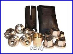 Land Rover Defender Discovery 1 Classic Alloy Wheel Locking Wheel Nuts & Key Kit