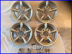 Land Rover Defender Silver Alloy Wheels Zu/mach5/challenger/atom & Locking Nuts