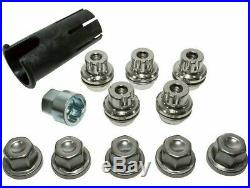 Land Rover Discovery 2 1999-2004 Alloy Wheel Locking Wheel Nuts & Key Kit