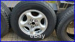 Land Rover Discovery 2 Td5 Alloy Wheels With Nuts And Locking Nuts