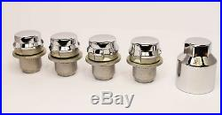 Land Rover Discovery 3 Range Rover Sport Solid Wheel Nuts. Set of 16 with Locks Si