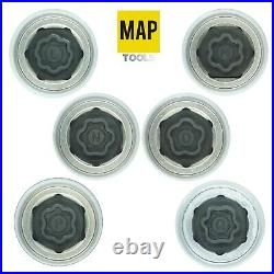 Land Rover Locking Wheel Nut Master Key Set 17 Pc (A Q)