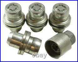Land Rover Lr4 / Discovery 4 Oem Alloy Wheel Locking Kit Lr078545 / Rrb500120