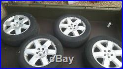 Land Rover Range Rover Discovery Alloy wheels tyres locking nuts