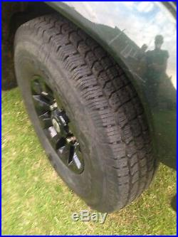 Land rover defender wheels 16/ X5 And tyres And Wheel Nuts Plus Locking Nuts