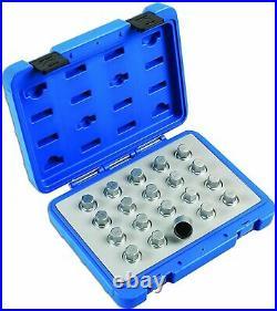 Laser 6861 Locking Wheel Nut Key Set For Vauxhall Opel 20 Piece Tool Set