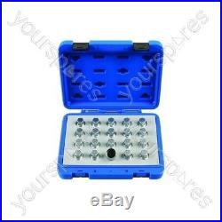 Laser Locking Wheel Nut Key Set Vauxhall/Opel 20pc