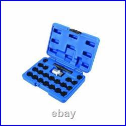 Laser Locking Wheel Nut Set Bmw 22pc 6539 Genuine Top Quality
