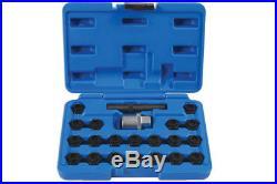 Laser Tools 6539 Locking Wheel Nut Set BMW 22pc