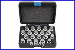 Laser Tools 6662 Locking Wheel Nut Key Set 20pc Volkswagen/Porsche