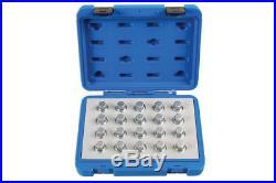 Laser Tools 6862 Locking Wheel Nut Key Set Vauxhall/Opel 20pc