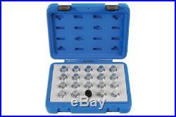 Laser Tools 6863 Locking Wheel Nut Key Set Vauxhall/Opel 20pc