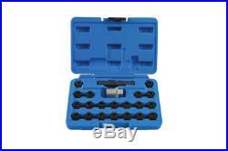 Laser Tools 7108 Locking Wheel Nut Key Set VAG 22pc