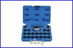 Laser Tools Locking Wheel Nut Key Set VAG 22 Pieces 7108L