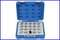 Laser Tools Locking Wheel Nut Key Set Vauxhall/Opel 20 Pieces 6863L