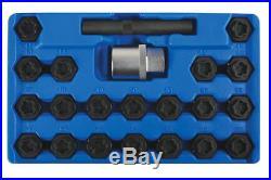 Laser Tools Master Locking Wheel Nut Key Set BMW 22 Pieces 6539