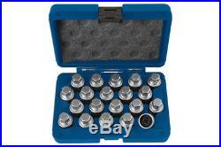 Laser Tools Master Wheel Nut Key Locking Set VW VAG 20 Pieces 6427